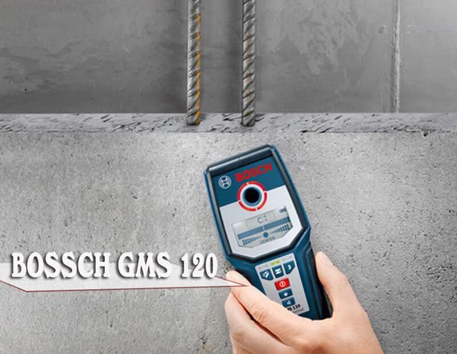máy dò kim loại đa năng bosch gms 120