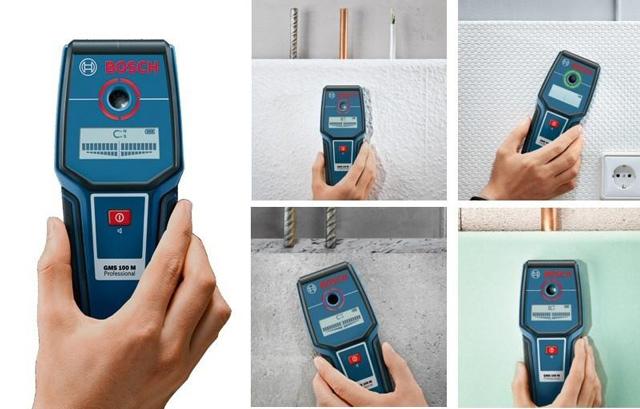 Máy dò kim loại Bosch GMS 100 Professional