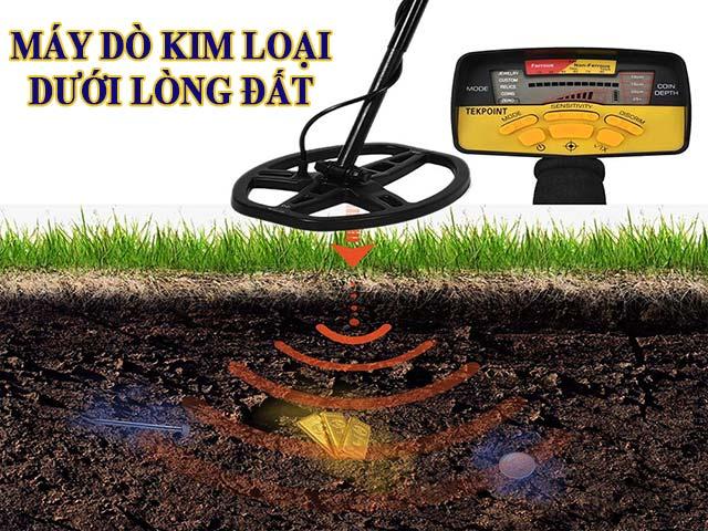 máy dò kim loại dưới lòng đất