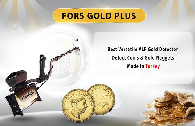 máy dò vàng com fors gold
