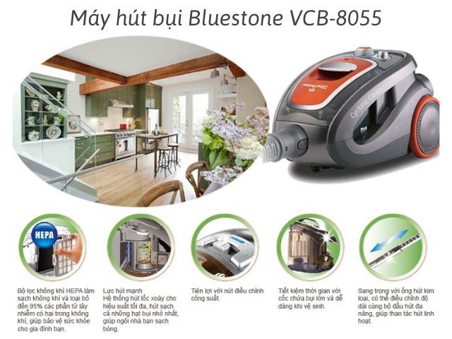 máy hút bụi Bluestone VCB-8055