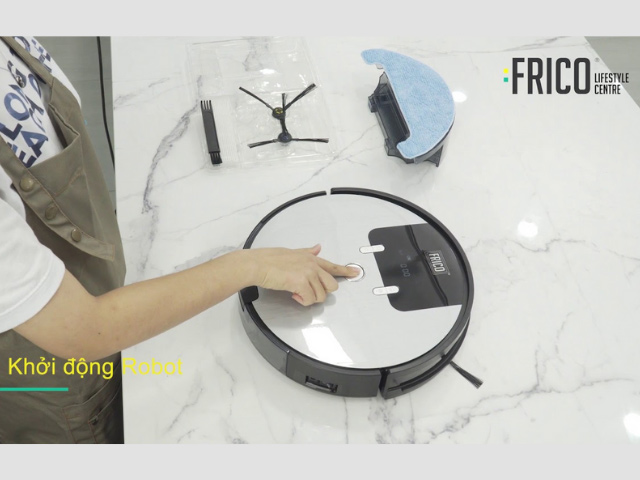 cách sử dụng máy hút bụi frico
