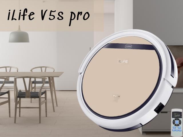 máy hút bụi iLife v5s pro