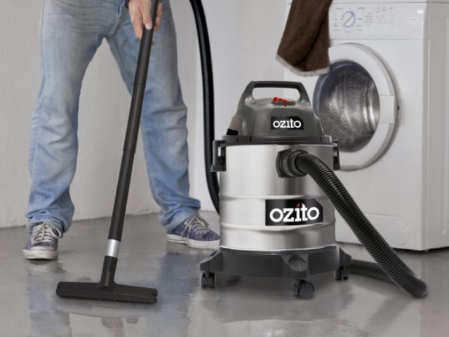 bảo quản máy hút bụi ozito