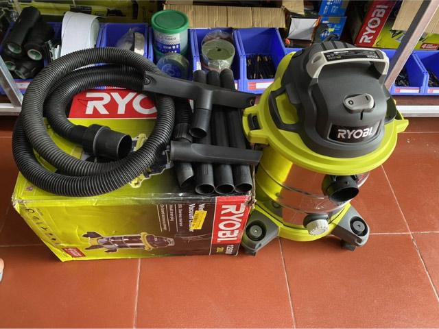 máy hút bụi Ryobi 1250w 20l