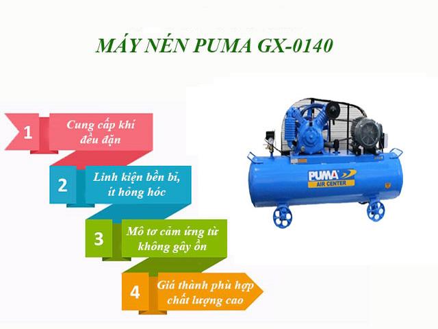 máy nén khí puma 8kg