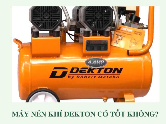 máy nén khí Dekton