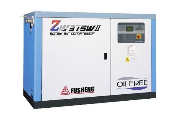 máy nén hơi trục vít không dầu Fusheng