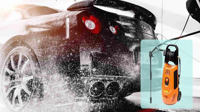 Model Jetta JET-2000 có thể tự hút nước tại xô, chậu hạn chế gián đoạn công việc