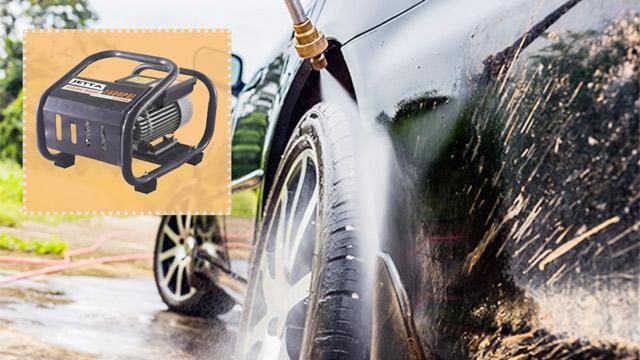 JET112-1.8S - Chiếc máy rửa xe gia đình giúp xử lý nhanh gọn các vết bẩn
