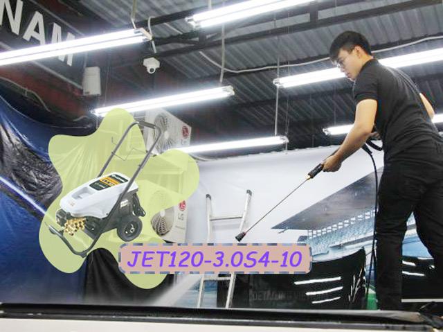 Jetta JET120-3.0S4-10 cho hiệu quả làm sạch vượt trội