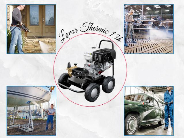 Thiết kế mạnh mẽ và ứng dụng của Lavor Thermic 13h