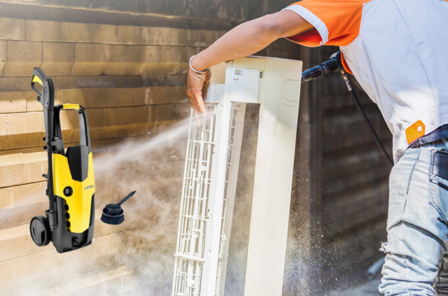 Lavor STM 150 được sử dụng để vệ sinh điều hòa
