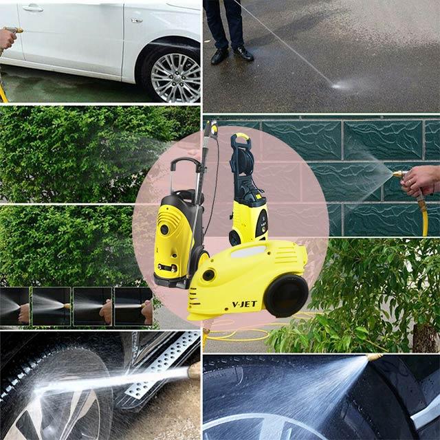 Ứng dụng rộng rãi của các thiết bị phun rửa V-jet