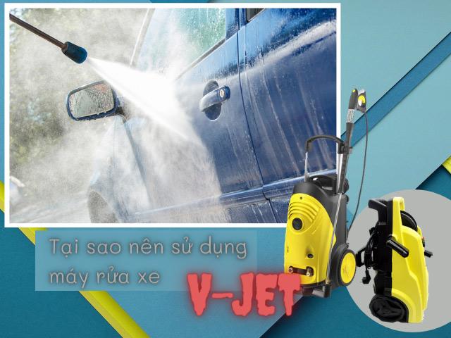 Máy rửa xe v-jet: đọc ngay để không tốn tiền rửa xe ngoài tiệm