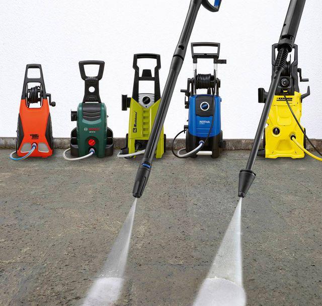 Máy rửa xe gia đình - những thương hiệu nổi bật