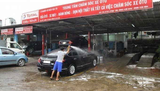 Mở tiệm rửa xe ô tô cần những gì