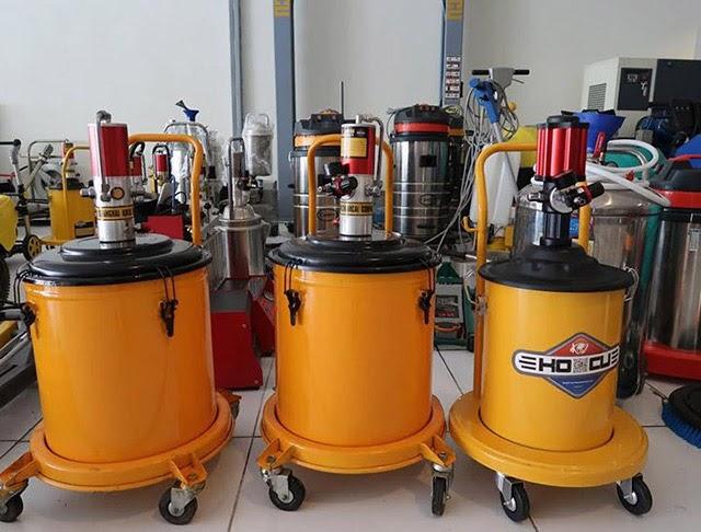 Ứng dụng của máy bơm mỡ trong công nghiệp