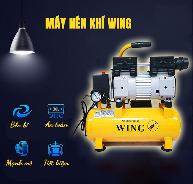 máy bơm khí nén Wing
