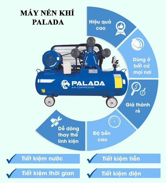 máy nén hơi Palada