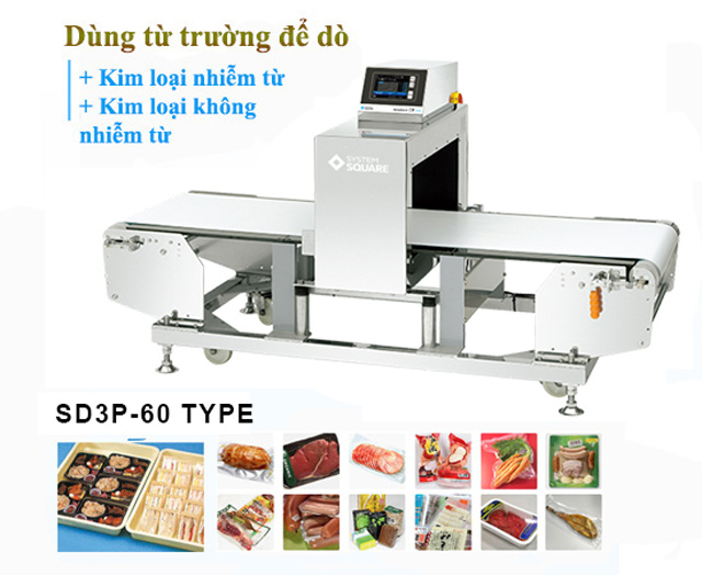 máy dò kim loại hải sản