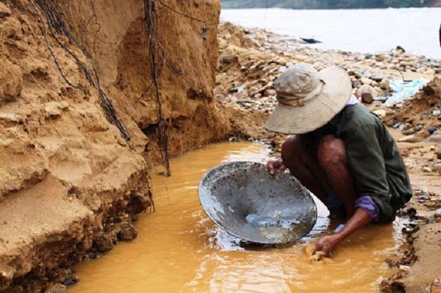 cách tìm vàng sa khoáng