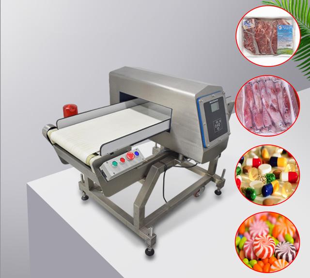 cấu tạo máy dò kim loại thực phẩm