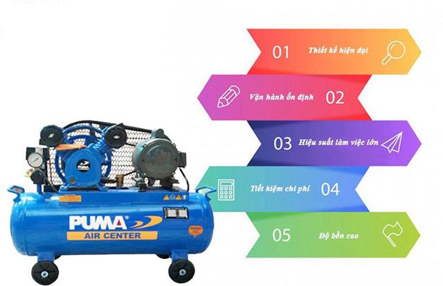 máy nén khí puma đài loan 1hp