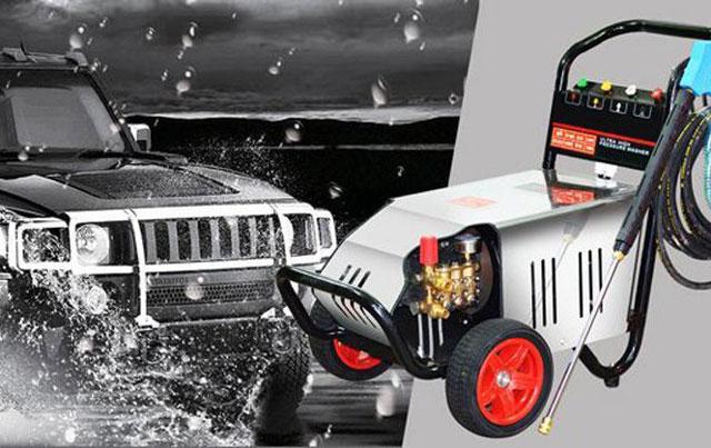 Máy bơm xịt rửa xe áp lực cao