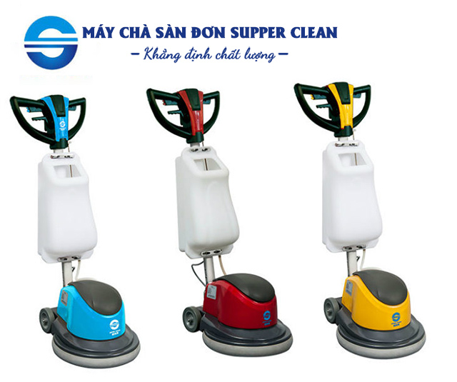 Nên đầu tư máy lau sàn đơn Supper Clean