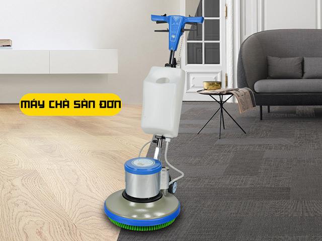 Máy chà sàn đơn là lựa chọn của thời đại mới