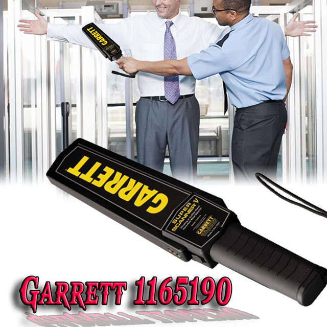 máy dò kim loại garrett 1165190