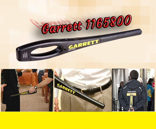 máy dò kim loại garrett 1165800