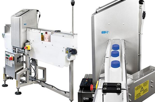 Máy dò kim loại thực phẩm băng tải phẳng THS/FBB