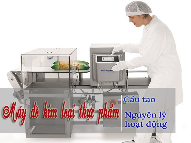 máy dò kim loại thực phẩm