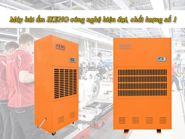Thương hiệu máy hút ẩm IKENO chất lượng cao