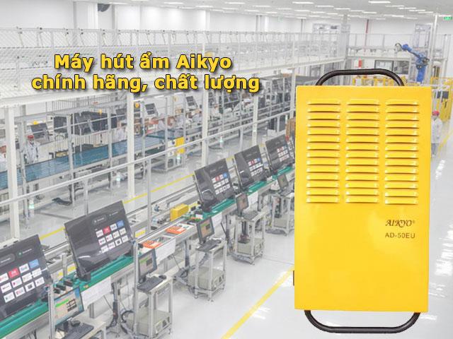 Khám phá về máy hút ẩm không khí Aikyo