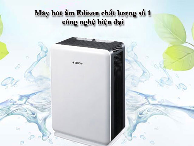 máy hút ẩm Edison