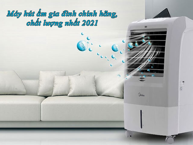 Máy hút ẩm gia đình giúp bảo vệ sức khỏe gia đình bạn