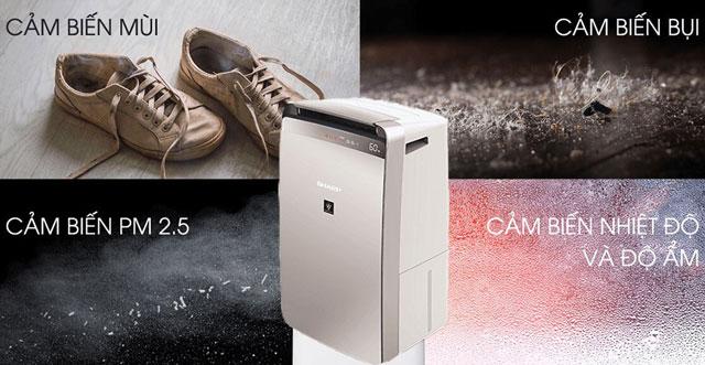 máy hút ẩm không khí chính hãng