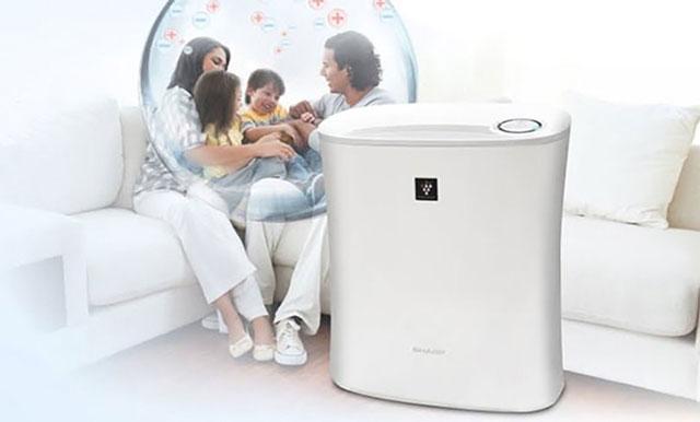 Máy hút ẩm cho gia đình giúp bảo vệ sức khỏe gia đình nhỏ