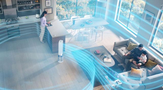 Máy lọc không khí và hút ẩm mang lại không khí trong lành cho gia đình bạn