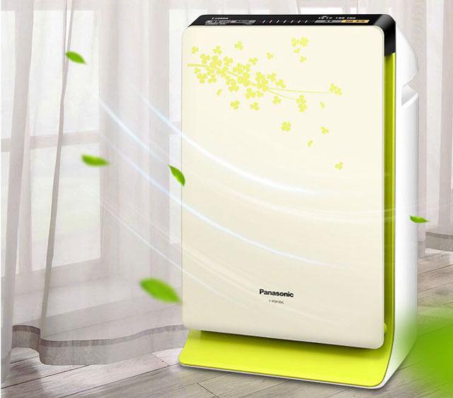 Model máy lọc không khí kết hợp hút ẩm Panasonic