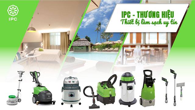 IPC là hãng sản xuất máy hút bụi - nước danh tiếng