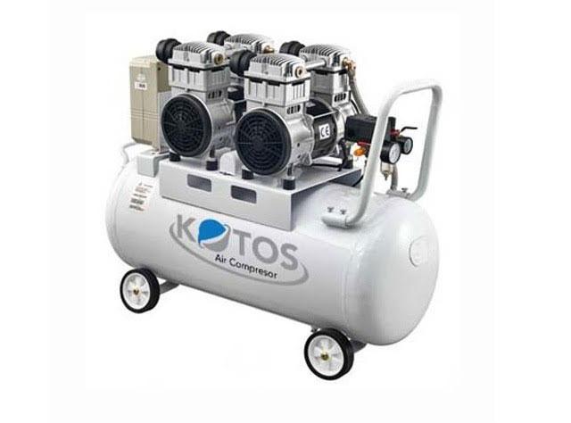 máy khí nén giảm âm không dầu