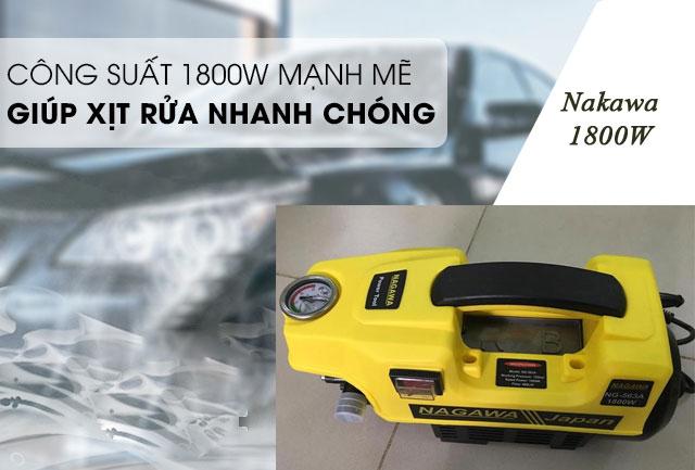 máy rửa xe Nagawa giá rẻ