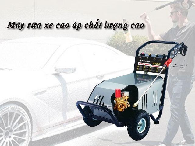 máy rửa xe cao áp