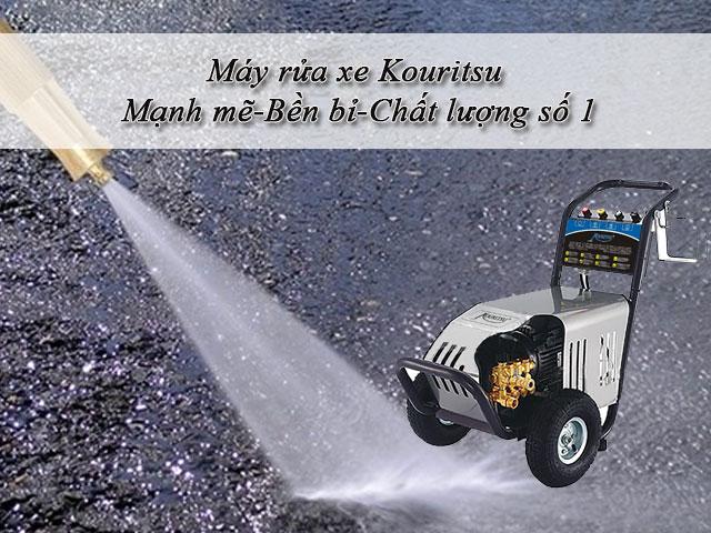 máy rửa xe Kouritsu