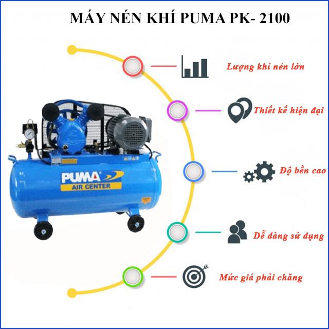 Moden khí nén Puma PK- 2100