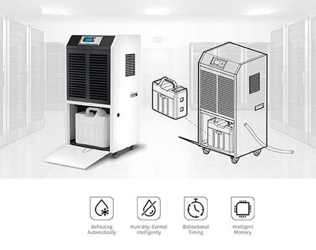 Nguyên lý hoạt động của thiết bị sử dụng công nghệ khử ẩm ngưng tụ lạnh